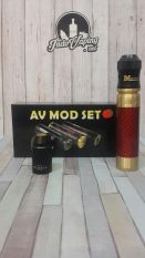 Harga Mecha Mod Kit Vapor Vape Able Mod By Av Clone Red Gold Dan Spesifikasinya