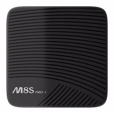 MECOOL M8S Pro L 3 GB + 16 GB TV Box Android 7.1 Kodi 17.3 Amlogic S912 8 Core 4 K 3D HD Vs H96 PRO Mendukung 2.4G/5g WiFi Blutooth Bluetooth 4.1 + HS-Intl