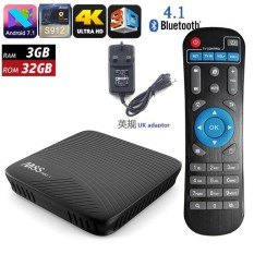 MECOOL M8S PRO L YouTube 4 K Streaming 3 GB/32 Android 7.1 Amlogic S912 KODI 17.3 4 K TV BOX 802.11AC WIFI Bluetooth LAN HDMI VS H96 PRO PLUS-Intl