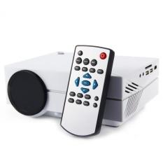 Media Player Gm60 Mini LCD Proyektor 1000 Lumens AC3 Dukungan FullHDvideo Portable LED Home Theater Murah HDMI Proyektor Beamer XJj3332 -Intl