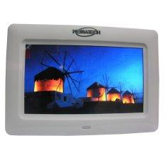 Jual Mediatech 7 Inch Digital Photo Frame Multifunction Putih Di Bawah Harga