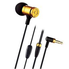 Harga Mediatech Bullet Earphone Earset Jbm Mj 007 Mic Gold Mediatech Online