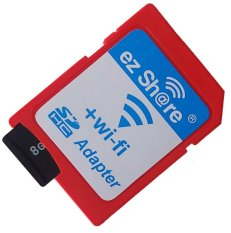Mediatech Ez Share Wifi Adapter Micro Sd To Sd Card Merah Original
