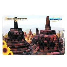 Mediatech Flashdisk Kartu Nama Indonesian Heritage 32GB-Borobudur