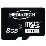 Jual Mediatech Microsd 8 Gb Class 10 Hitam Murah