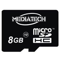 Toko Mediatech Microsd 8 Gb Class 10 Hitam Mediatech