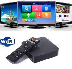 Mediatech Smart TV Box OTT 4k Ultra HD Android 4.4 Kikat TV Box MXQ 8GB - Hitam