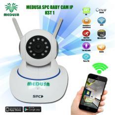 Toko Medusa Spc Baby Camera Ip Kst 1 1 0Mp Wifi Onvif Sd Card Two Way Audio Online Dki Jakarta