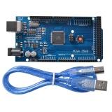 Diskon Mega 2560 R3 Atmega16U2 Atmega2560 16Au Module Board Usb Cable For Arduino Intl