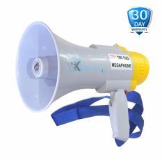 Ecomax Megaphone Pro Master USA TMC-1002 Putih Rechargeable - Toa Portabel Pengeras Suara - Rekam Dan Sirene