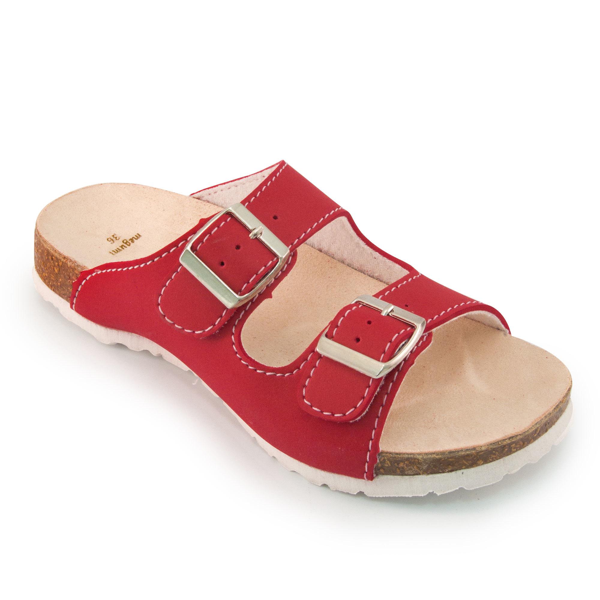 Harga Megumi Sandal Wanita Yorkshire Red Original