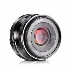 Meike 35 Mm F/1.7 APS-C Aperture Besar Manual Fokus Lensa Tetap untuk Can0n EOS-M Kamera Mirrorless EOS-M3/EOS-M2 /EOS-M10/EOS-M Frosted Konstruksi Logam/Multi Dilapisi-Internasional