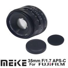 MEIKE 35MM F1.7 APS-C Lensa FOR FUJIFILM X-Mount Manual Focus Lensa