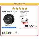 Meike Lens Mk 35Mm F 1 7 Manual Focus For Canon M Mount M10 M3 M5 M6 Meike Diskon 30
