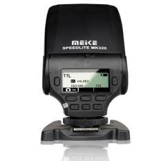 Meike MK-320 TTL Blitz Speedlite untuk Sony A7 A7R A7S A7 II A77 II A6000 NEX-6 A58 A99 RX1 RX1R RX10 Hitam-Internasional