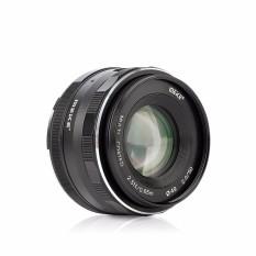 Meike MK-50mm F/2.0 Apertur Besar Fixed Manual Lensa Bekerja untuk APS-C Lumix Panas0nic 0 Lympus M4/3 sistem Mirrorless-Internasional