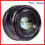 Promo Meike Mk E 35 1 7 35Mm F1 7 Large Aperture Manual Prime Fixed Lens Aps C For S0Ny E Mount Digital Mirrorless Cameras Nex 3 Nex 3N Nex 5 Nex 5T Nex 5R Nex 6 7 A5000 A5100 A6000 A6100 A6300 A6500 A9 Intl Meike