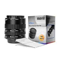 Meike MK-N-AF-B ABS Tabung Ekstra Set untuk Nikon SLR dengan Fokus Otomatis-Intl
