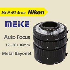 Meike MK-N-AF1-Al Adaptor Fokus Otomatis Tabung Ekstensi Cincin AF untuk Nikon D7100 D520-Intl