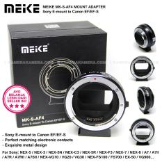 Spesifikasi Meike Mk S Af4 Mount Adapter For Sony E Mount To Canon Ef Ef S Bagus