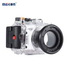 MEIKON SY-15 40 M/130ft Underwater Waterproof Kamera Kamera Waterproof Transparan Case untuk Sony RX100 III-Intl
