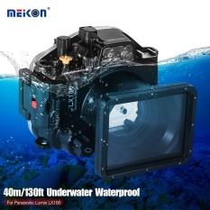 MEIKON Waterproof Camera Menyelam Housing Protective Case Cover Bawah Air 40 M/130ft untuk Panasonic Lumix LX100-Intl