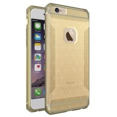 Meishengkai Case Cover For Apple iPhone 6 Plus / 6s Plus Case, Slim and Cover Case Coated Non Slip Drop Scrub Unisex Protective Scrub + PC - intl
