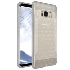 Meishengkai Case Cover For Samsung Galaxy S8 Case, Slim and Cover Case Coated Non Slip Drop Scrub Unisex Protective Scrub + PC - intl