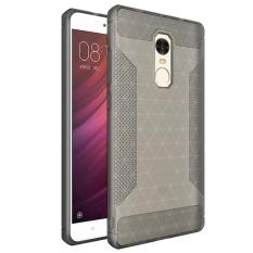 Meishengkai Case Cover For Xiaomi Redmi Note 4 Case, Slim and Cover Case Coated Non Slip Drop Scrub Unisex Protective Scrub + PC - intl