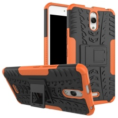 Meishengkai Case For Alcatel One Touch Pixi 4 (6) 6.0 Inch 3G Detachable 2 in 1 Hybrid Armor Design Shockproof Tough Rugged Dual-Layer Case Cover with Built-in Kickstand - intl