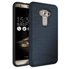 Meishengkai Case For Asus Zenfone 3 Ze552Kl Rotate Kickstand Hybrid Shock Resistant Protective Case Tough Rugged Dual Layer Brushed Two In One Beautiful Personality Case Intl Msk Diskon 50