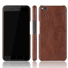Meishengkai Case For HTC Desire X9 PU +Leather Kickstand PU Leather crocodile pattern hard shell leather protective sleeve case - intl