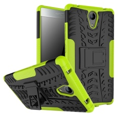 Meishengkai Case For Lenovo Phab 2G Detachable 2 in 1 Hybrid Armor Design Shockproof Tough Rugged Dual-Layer Case Cover with Built-in Kickstand - intl