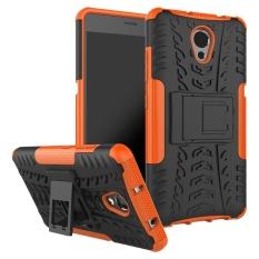 Meishengkai Case untuk Lenovo Vibe P2 Dilepas 2 Dalam 1 Hibrida Pelindung Desain Anti Guncangan Tough Kasar Ganda-Lapisan Case dengan Dibangun Di-Dalam Stand Penyangga-Internasional