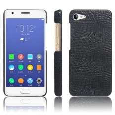 Meishengkai Case For Lenovo ZUK Z2 PU +Leather Kickstand PU Leather crocodile pattern hard shell leather protective sleeve case - intl