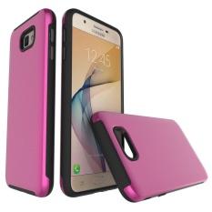 Meishengkai Case untuk Samsung Galaxy J5 Prime Standar Yang Dapat Berputar Hibrida Tahan Guncangan Pelindung Case Sulit Kuat Ganda Lapisan Disikat Dua Di -Salah Satu Yang Indah Casing Tokoh-Intl