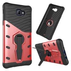 Meishengkai Case untuk Samsung Galaxy J5 Prime Standar Yang Dapat Berputar Hybrid Shock-Menyerap Pelindung Case Sulit Kuat Ganda Lapisan Case Cover-Intl