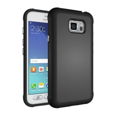 Meishengkai Case For Samsung Galaxy S7 Active Anti Slip And Shatter Proof Hard PC + TPU 2 in 1 Protective Case Cover Black