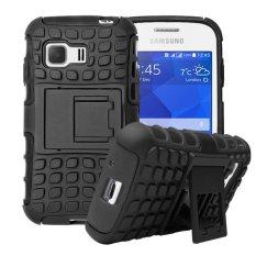 Rp 77.000. Pelindung Meishengkai untuk Samsung Galaxy Young 2 Detachable 2 In 1 Shockproof Tough Rugged Mencegah Tergelincir Dual-Layer Case ...
