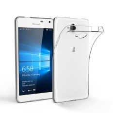 MeiShengKai For Microsoft Lumia 650, Ultra Thin Crystal Clear Anti-Scratch Silicone TPU Case - intl