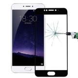 Spesifikasi Meizu Mx6 26Mm 9 H Kekerasan Permukaan Tahan Ledakan Silk Screen Tempered Glass Full Screen Film Hitam Intl