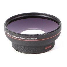 Meking HD 67 Mm 0.5X Makro Sudut Lebar Perlengkapan Konvensi Lensa untuk Nikon Sony Canon DSLR