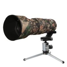 Meking Kamuflase Lensa Lindungi Lambang Cover Camo W/Tripod untuk Nikon 200-500mm F5.6 VR Camera- INTL