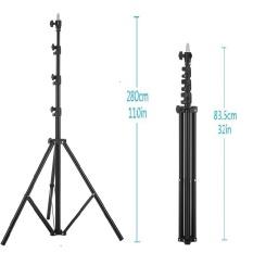 Meking Fotografi Light Stand 280 Cm 92� \ X9D MK2.8 Air CushionLightstand L-2800FP-Intl