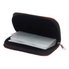 Jual Dompet Penyimpanan Kartu Memori Case Bag Holder Sd Micro 22 Slot Kamera Hitam Intl Ori