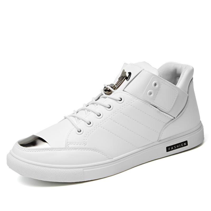 Spesifikasi Men S Fashion Board Sepatu Baru Desain Nyaman Sepatu Kasual Pria Intl Merk Oem