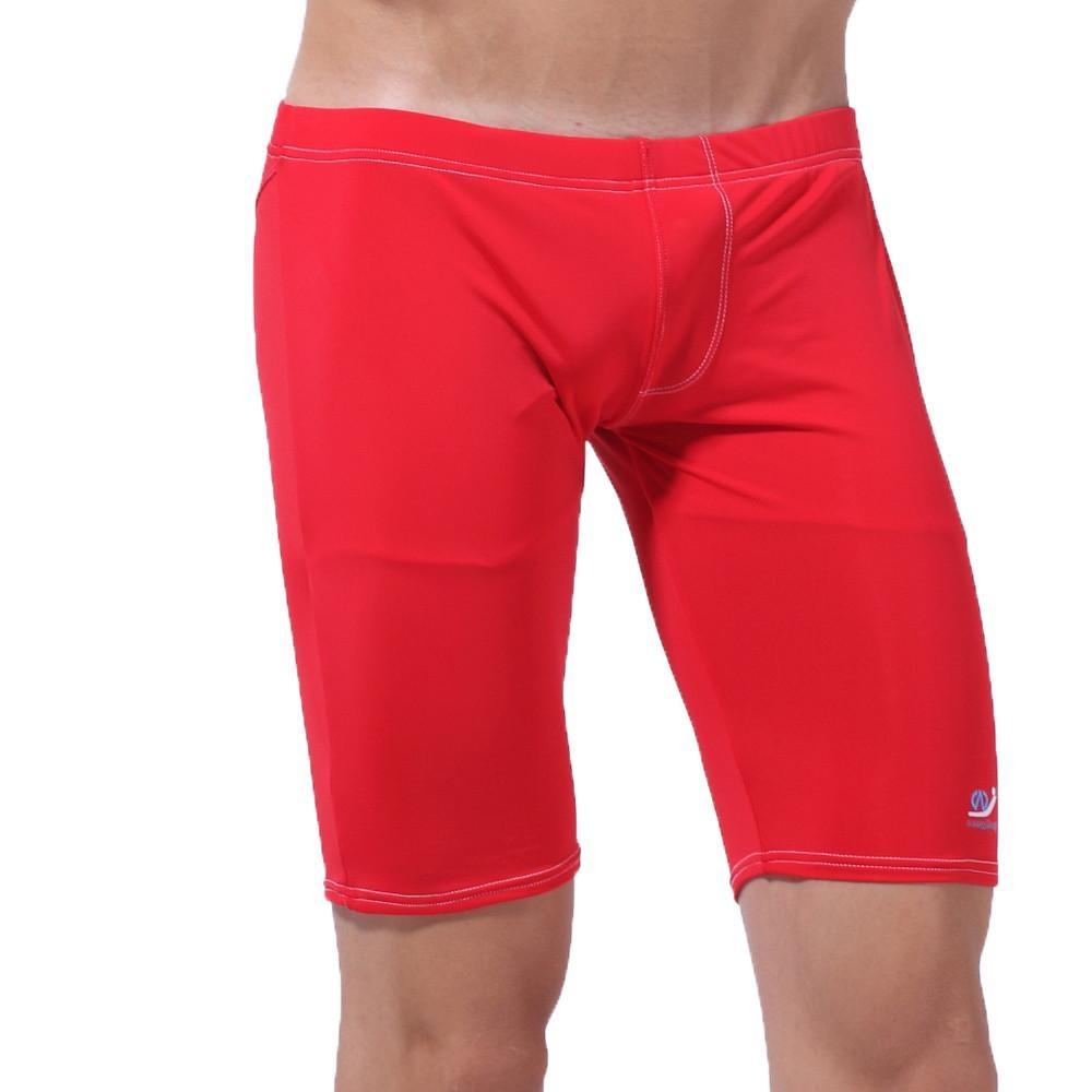 Toko Men Long Racing Renang Sport Klasik Pendek Pria Swimwear Pants Rd L Intl Di Tiongkok