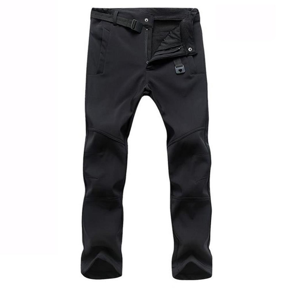 Harga Menebal Pria Tahan Air Outdoor Camping Taktis Outdoor Hiking Celana Cargo Pants Kasual Combat Trousers Hitam Intl Asli Oem