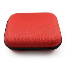 Review Terbaik Mengs® Waterproof And Dustproof Headphone Storage Bag For Wm55 Sj55 Red
