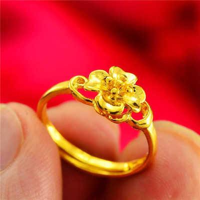 Diskon Menikah Paket Berlapis Emas Anting Emas Gelang Berlapisan Emas Cincin Akhir Tahun